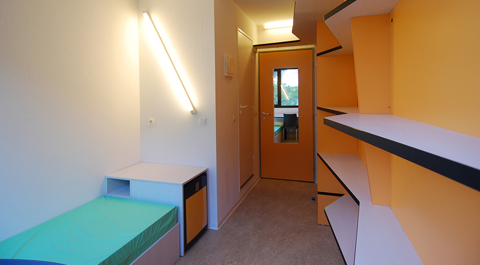 Rehabilitation batiment a cite universitaire luminy - Chambre universitaire marseille ...