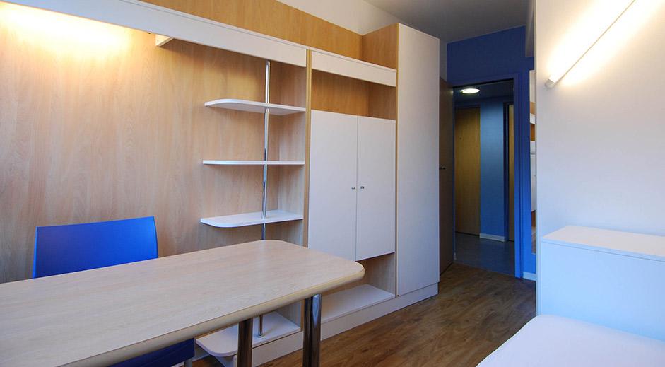 rehabilitation pavillon 7 cite universitaire les gazelles cbbm architectes. Black Bedroom Furniture Sets. Home Design Ideas