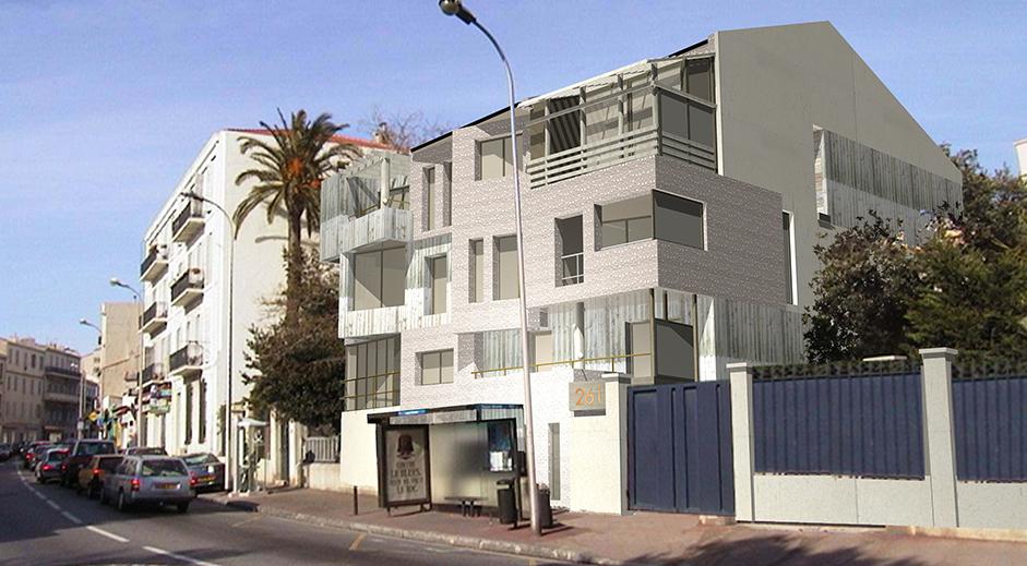 immeuble de logement r 3 cbbm architectes. Black Bedroom Furniture Sets. Home Design Ideas