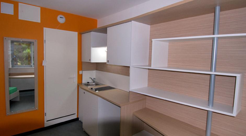 chambre universitaire vert bois montpellierPAVILLON 3 DE LA